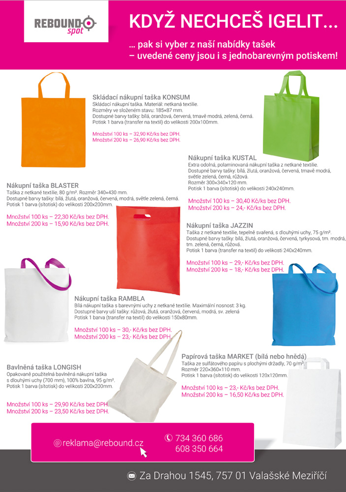 43407ef379c REBOUNDspot - Reklamní a dárkové předměty pro Vaše byznys partnery